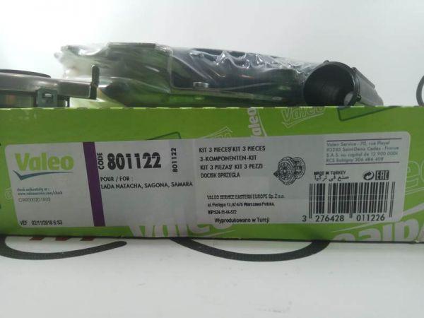 Комплект сцепления ВАЗ 2108-2115 ((корзина+диск+муфта) Valeo 801122