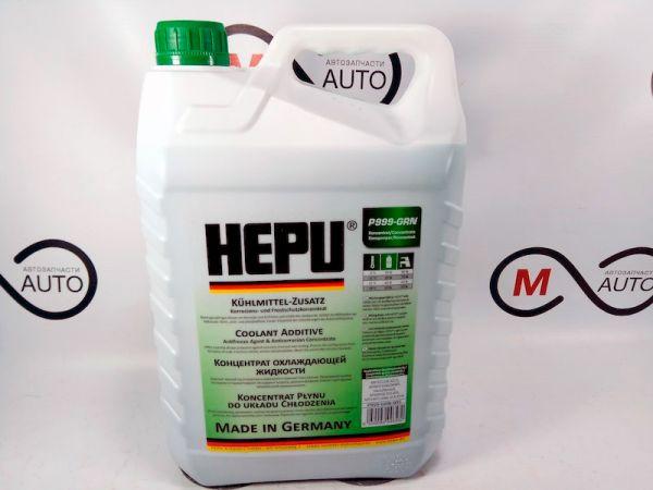 Концентрат охлаждающей жидкости HEPU G11 зеленый, 5 л
