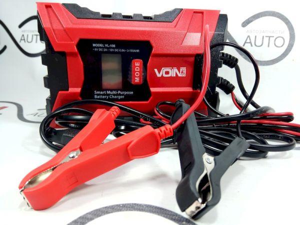 VOIN VL-156 Зарядное устройство (105W power, 6/12V, 150Ah)