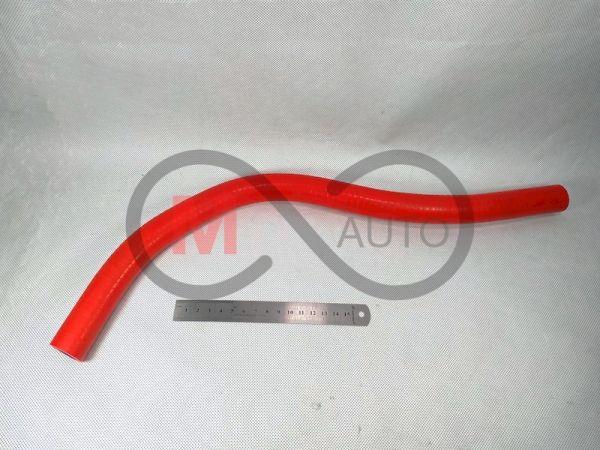 Патрубок расширительного бачка ВАЗ 2111, к термостату, силикон, красный