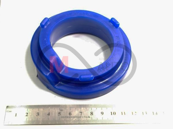 Прокладка пружины задней подвески ВАЗ 2108-099, 2110-12, 2115, 2170, полиуретан, синий