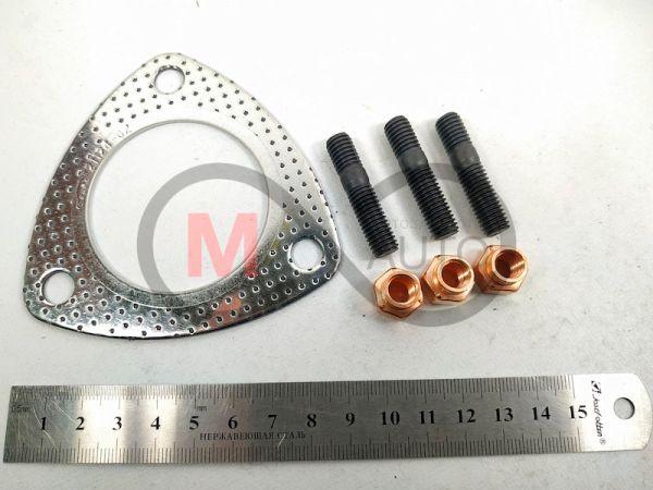 БЦМ 21124-1008000 Ремкомплект трубы приемной ВАЗ 21124 (прокладка, гайки, шпильки)