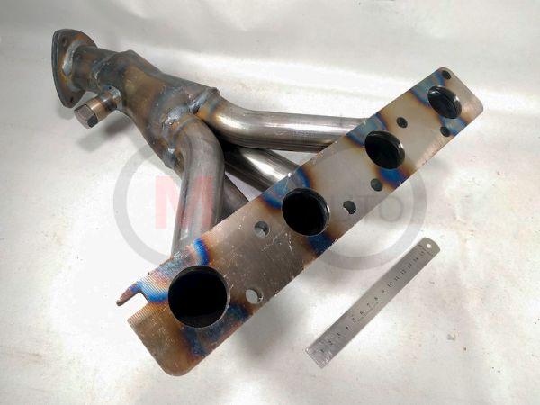 Вставка катализатора ВАЗ 2110, Калина, Приора Stinger 16V 1.6L (2 датчика)